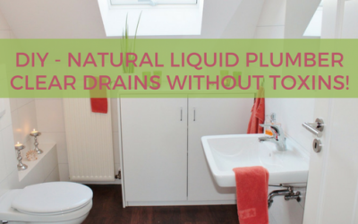 DIY – Natural Draino – Clear Your Drains Without Toxins