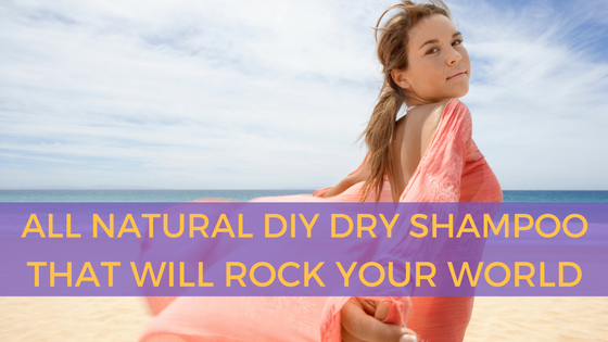DIY All Natural Dry Shampoo That Will Rock Your World