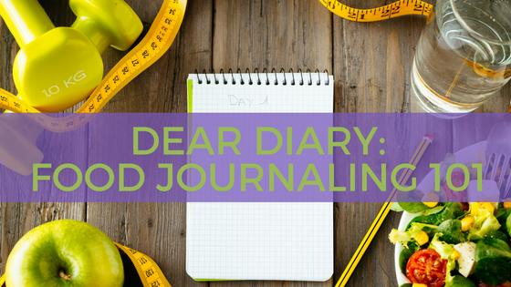 Dear Diary: Food Journaling 101