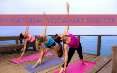 DIY All Natural Yoga Mat Spritzer