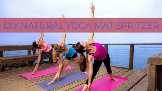DIY All Natural Yoga Mat Spritzer