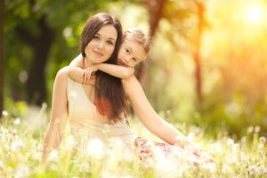 Learn to Meditate, Meditation Course, Busy, Mom and child, family meditation