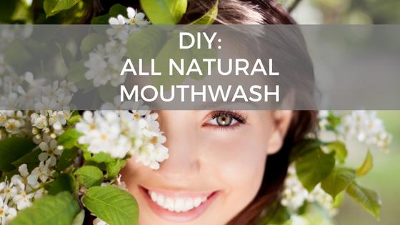 DIY: Deep Cleaning Flouride Free Mouthwash